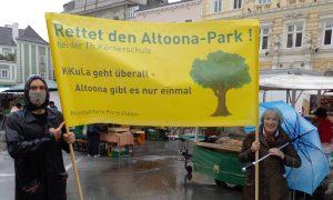 Demo am Domplatz für Altoona